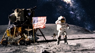 La NASA dijo que planea enviar a la primera mujer a la Luna en 2024