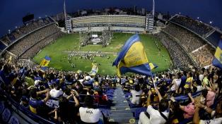 El día del hincha de Boca tuvo su festejo en La Bombonera