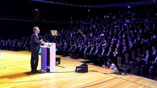"""Macri: """"El siglo XXI nos impulsa a no tenerle miedo al cambio"""""""