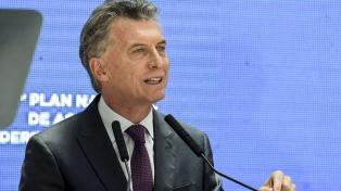 """Macri garantizó la continuidad de las políticas de """"memoria, verdad y justicia"""""""