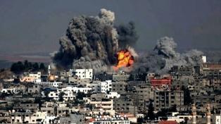Israel bombardeó infraestructuras de Hamas