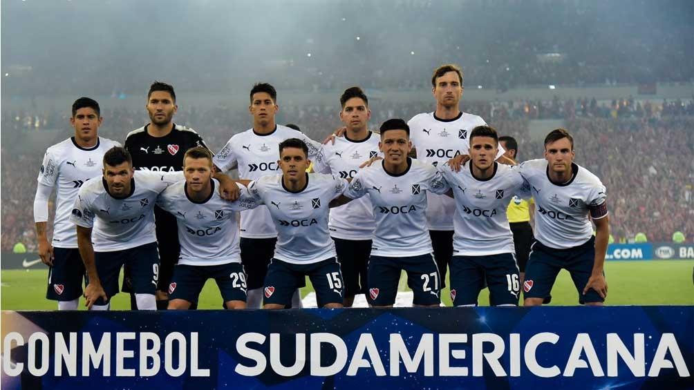 Independiente logró por segunda vez la Sudamericana de su historia (Foto:@Conmebol)
