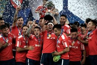 Independiente empató y se consagró campeón en Brasil