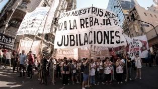 Comenzó la jornada de protestas contra la reforma previsional