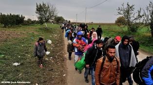 Recibirán en 2018 unos 10.000 refugiados libios por un corredor humanitario