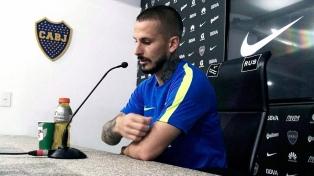 Benedetto inició su rehabilitación en el gimnasio de Boca
