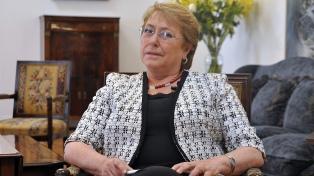 "Bachelet, sobre la visita del Papa: ""Es un indicio de madurez institucional"""