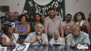 """Sectores sociales pidieron al Gobierno el """"cese de la represión"""""""