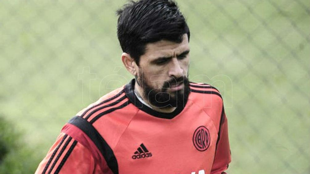 Lucho González, en su paso por River, ahora lo tendrá enfrente por la Recopa Sudamericana (foto archivo)