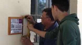 Alumnos secundarios crearon un circuito turístico autoguiado mediante un código QR