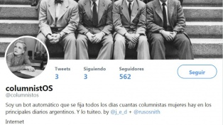 Un bot argentino tuitea sobre la identidad de género en las redacciones de los diarios