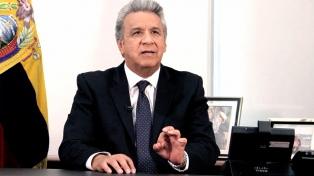 """Lenín Moreno: """"No me agrada la presencia del señor Assange en la embajada"""""""