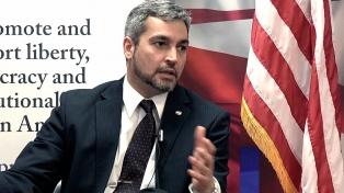"""Abdo Benítez consideró que el acuerdo es una oportunidad y un """"hecho histórico"""""""