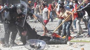 Incidentes en el Congreso: liberan al policía acusado de arrollar a un cartonero