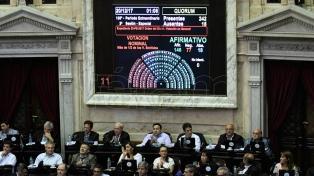 La Cámara de Diputados aprobó con amplia mayoría la reforma tributaria