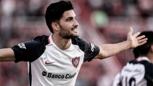 Nicolás Blandi prepara su regreso en San Lorenzo