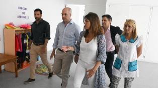 Larreta inauguró la nueva sede del Centro de Desarrollo Infantil en Villa Soldati