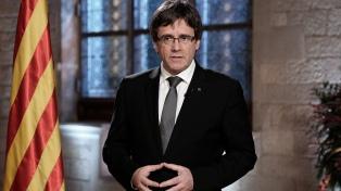 """Puigdemont: """"Tenemos que buscar fórmulas para que no haya elecciones"""""""