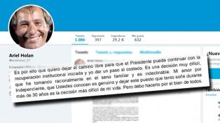 Holan renunció como DT de Independiente
