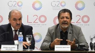 Lanzaron la agenda de trabajo 2018 de los líderes sindicales del G20