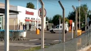 Disturbios y saqueos en Luján
