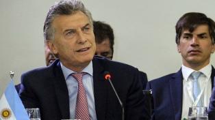 Macri defendió la flotación libre del dólar