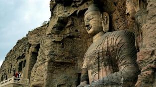 Inauguran una réplica de las grutas de Yungang hecha con impresoras 3D