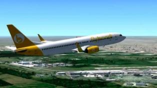 """Llegó a Bariloche el primer vuelo de una compañía """"low cost"""" y promete un incremento turístico"""