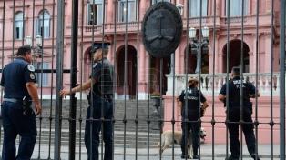 Amenazas de bomba en la Casa Rosada y la Cámara de Diputados