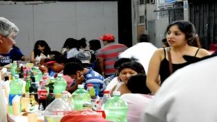 Organizan una cena de Navidad para las personas en situación de calle