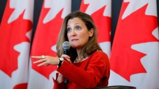 Chrystia Freeland, ministra de Relaciones Exteriores de Canadá