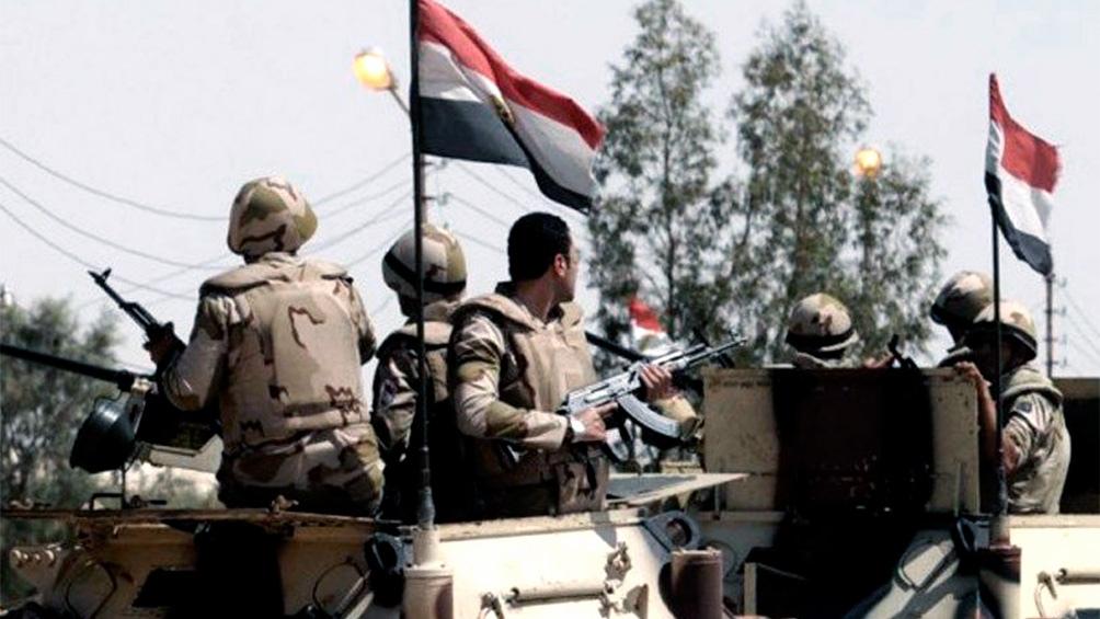 EGIPTO: Fuerzas de seguridad matan a 14 supuestos yihadistas en el norte del Sinaí