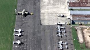 Habilitan El Palomar para operaciones aéreas, pero limitada a tres despegues y aterrizajes diarios