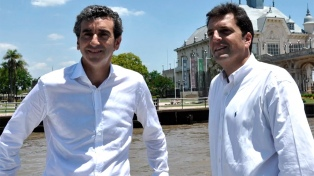 Massa y Randazzo, juntos por primera vez tras las legislativas de 2017