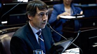 """Naidenoff, en la sesión sobre la deuda: """"La Argentina es adicta al relato"""""""