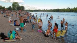 Los ríos neuquinos son aptos para balneario