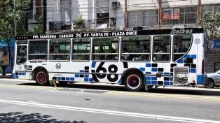 Las tarifas de colectivo subirán en febrero en el área metropolitana