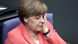 Canciller alemana, Angela Merkel
