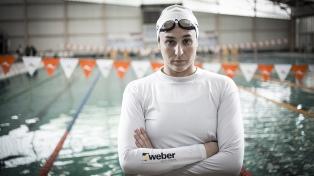 La nadadora Pilar Geijo cruzará el Río de La Plata con fines solidarios