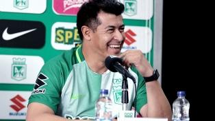 """Almirón dijo que """"en Atlético Nacional hay que ganar todo"""""""