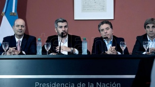 Dujovne, Caputo y Sturzenegger asisten a la Asamblea Anual del FMI