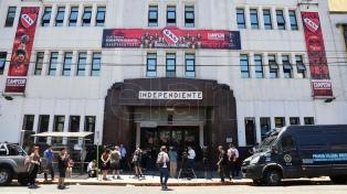 Allanaron la sede de Independiente por una investigación de lavado de dinero