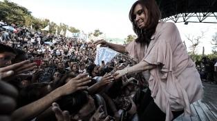 """Cristina Kirchner afirmó que el Gobierno no resolvió """"ni uno solo de los problemas"""""""