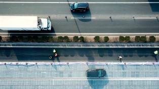 China abre un tramo de prueba de una autopista solar