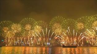 Cómo fueron los festejos por la llegada del 2018 en todo el mundo