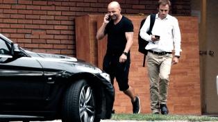 Sampaoli presenció la práctica del City, antes de viajar a Milán