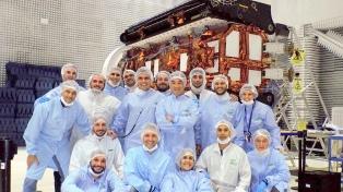 """Lanzan esta noche el satélite argentino de observación con microondas """"Saocom 1A"""""""