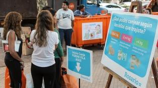 """Recuperan más de 6 toneladas de desechos reciclables con canjes """"naturales"""""""