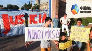 Familiares de víctimas de la explosión en la cerealera Cofco exigieron justicia