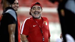 "Maradona llamó ""mentiroso"" a Sampaoli y ""traidor"" a Chiqui Tapia"